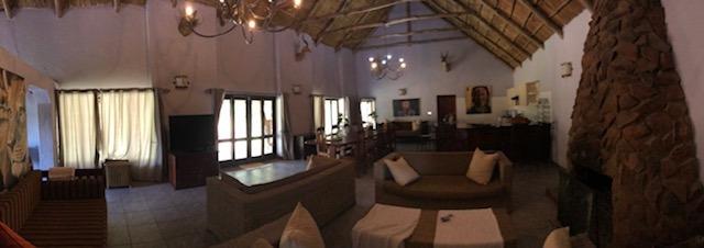 inside pamuzinda lodge, Zimbabwe