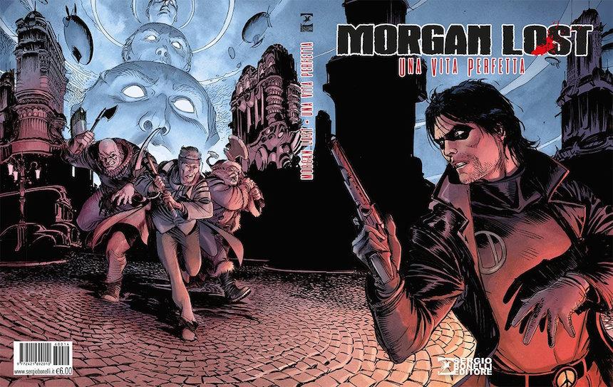 Cover Variant by giulio De vita per Morgan Lost ed Bonelli
