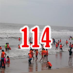 Chết đuối gọi 114