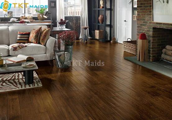 Hình ảnh minh họa: sàn nhà gỗ tự nhiên