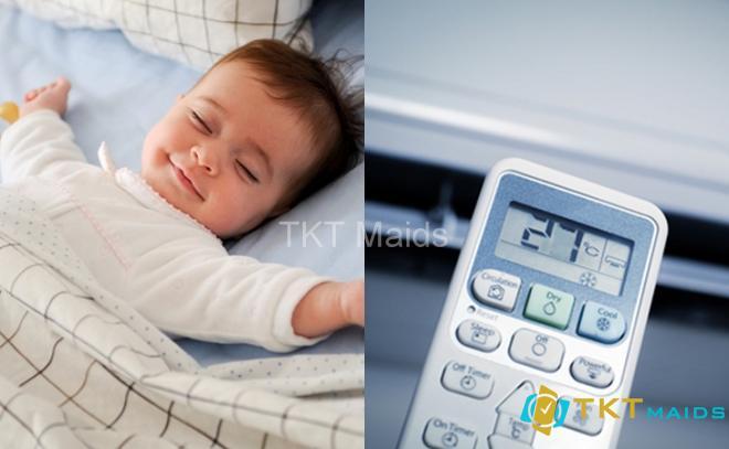 nhiệt độ thích hợp dành cho em bé