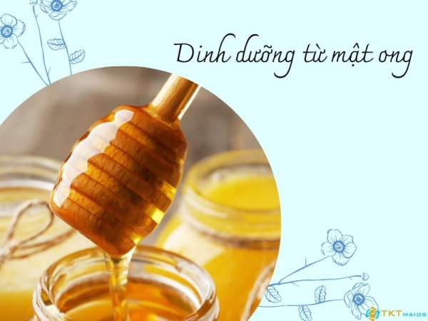 Dinh dưỡng từ mật ong bạn nên biết