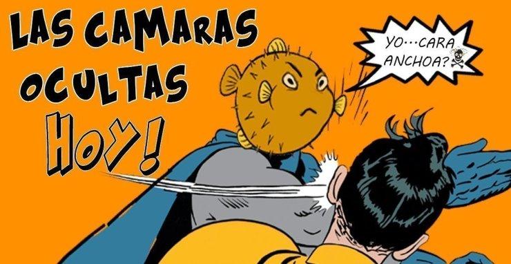 LAS CAMARAS OCULTAS HOY / CARA ANCHOA Y EL PAYASO ASESINO