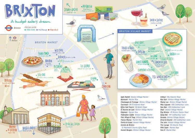 Brixton food