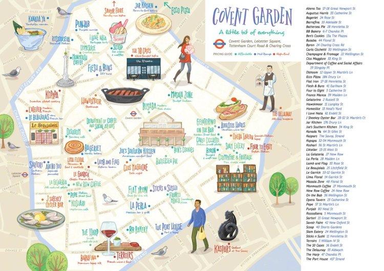 Covent Garden food