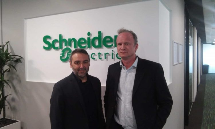 Elliot-and-Giuseppe-Caltabiano-at-Schneider-Electric