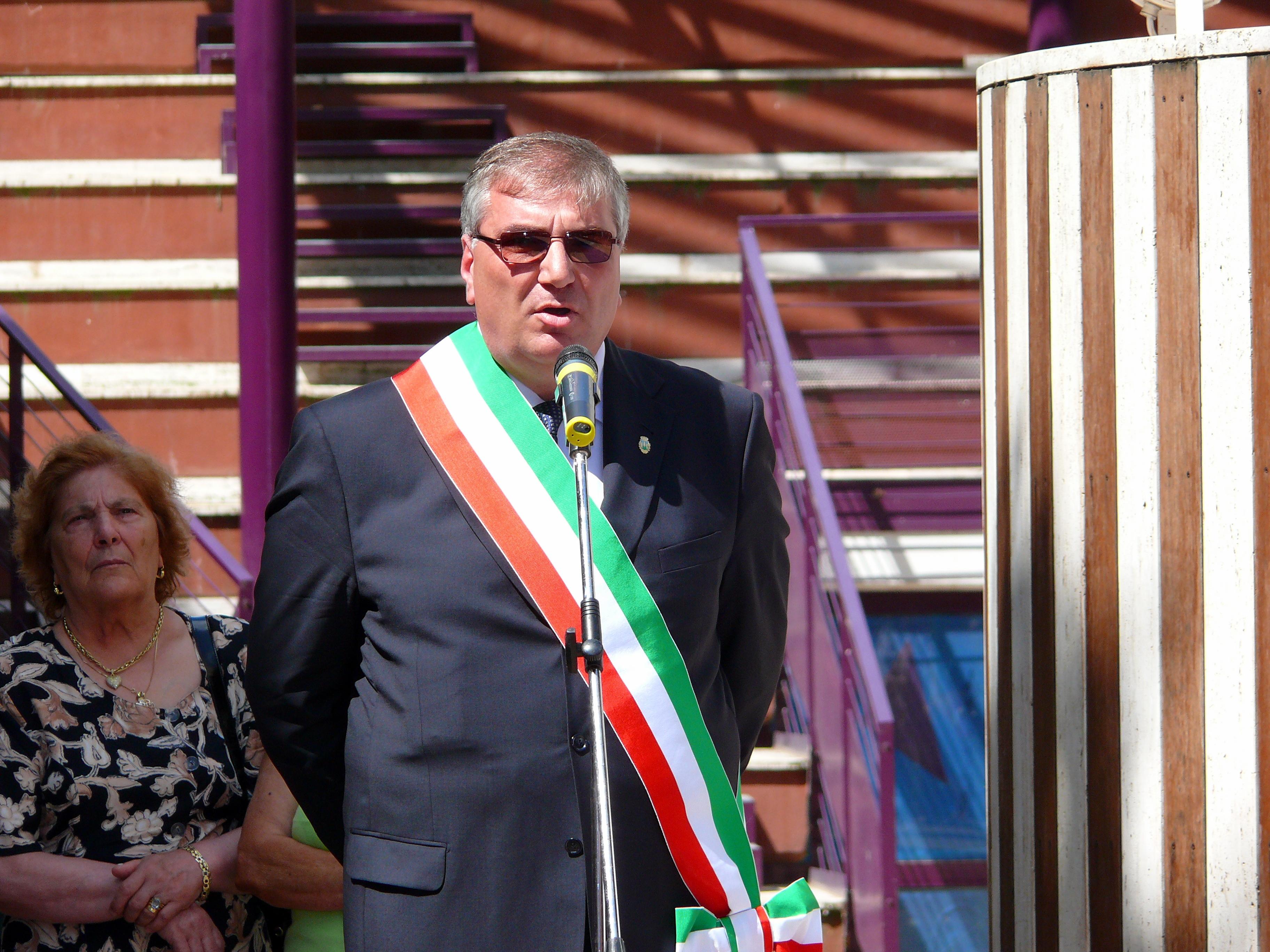 Il sindaco Antonello Merolla