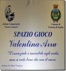 Targa Valentina Arru