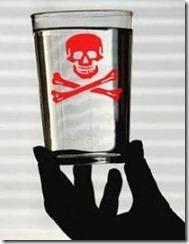 Bicchiere all'arsenico