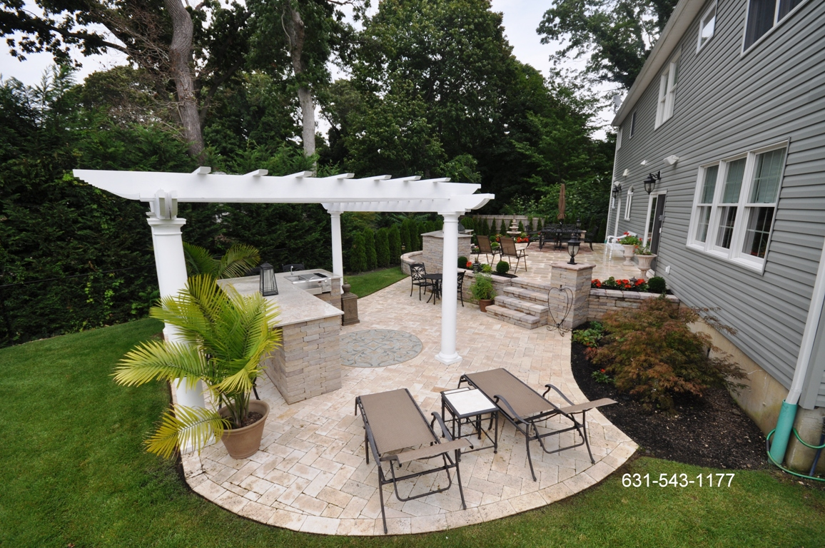 Backyard Patio Paver Designs
