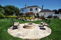 Round Flagstone Patio. 3 46M 11FT4 ROTUNDA CIRCLE PATIO