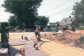 Award Winning pavingstone Installation