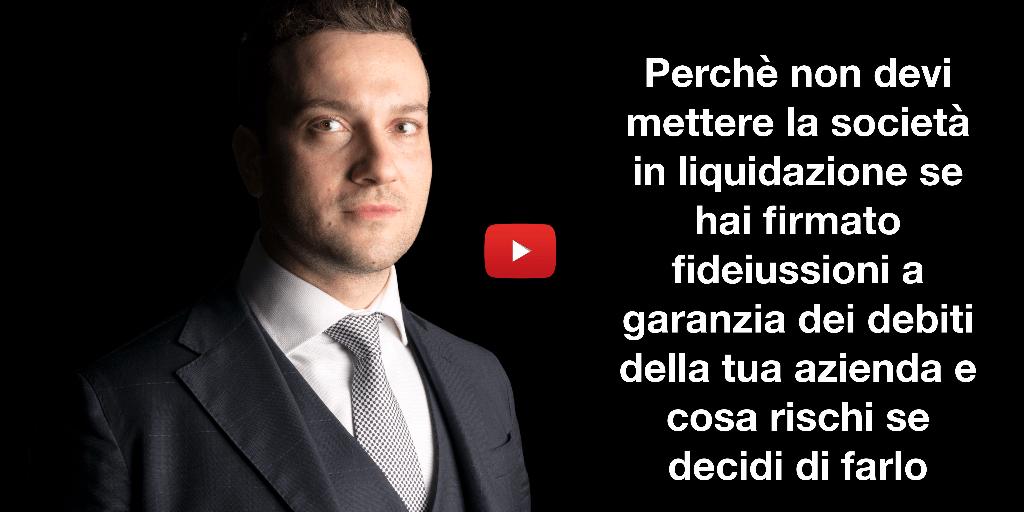 società in liquidazione