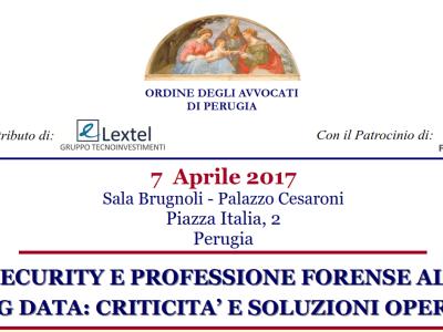 Perugia, 7 Aprile 2017