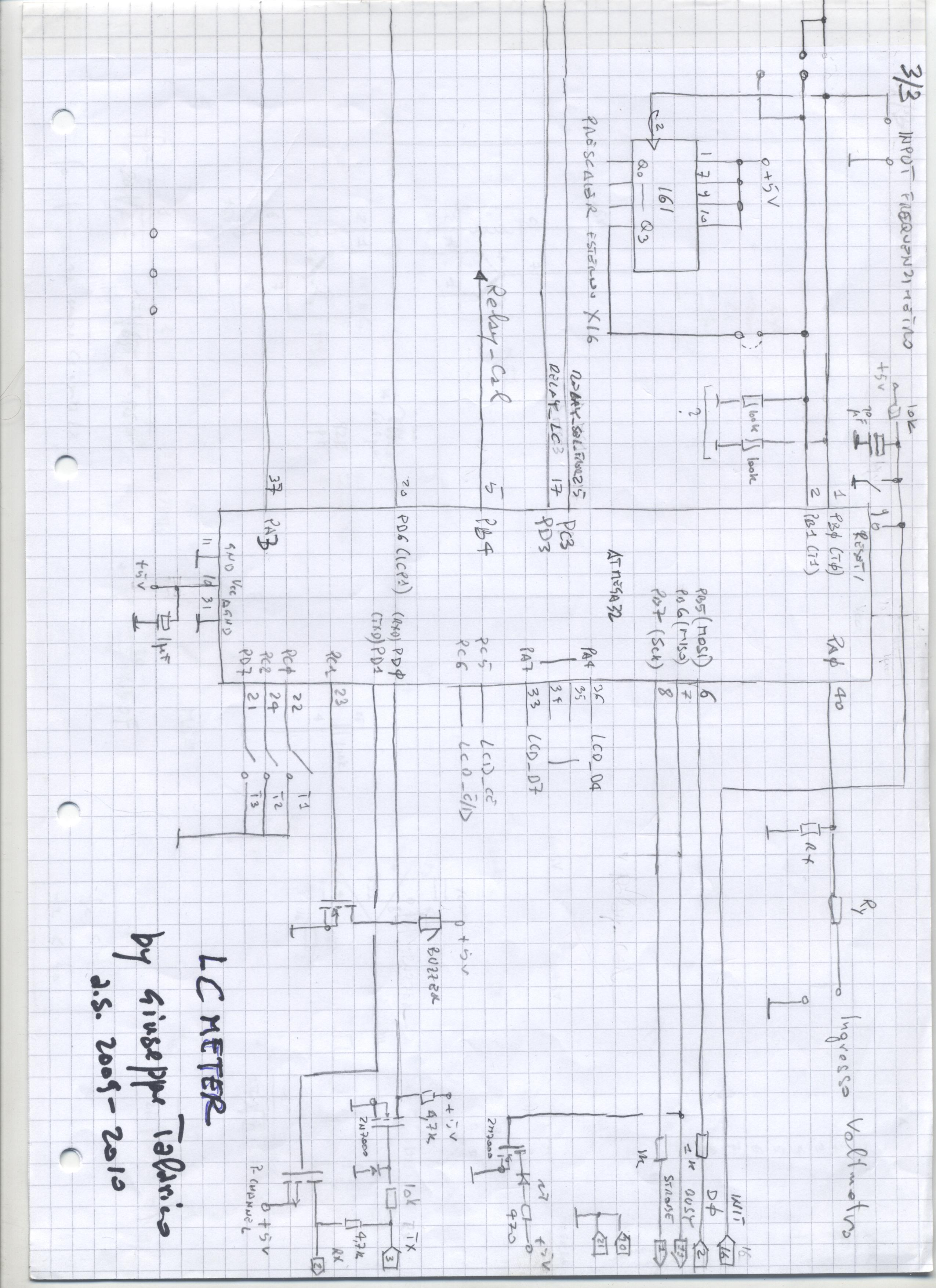 LC meter diagram