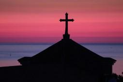 Pellegrinaggio alla Cona - 2/7/2013 - L'alba