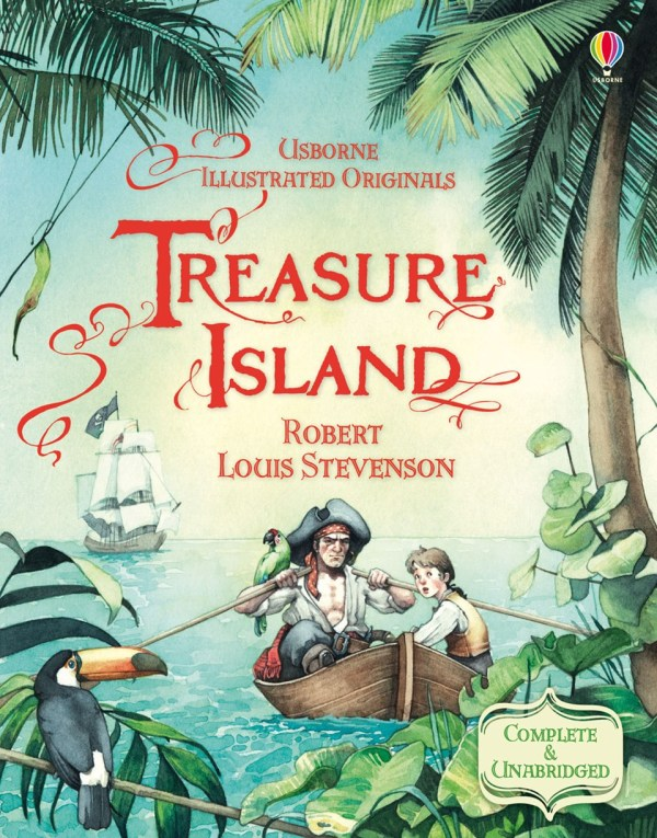 Dan Snow Treasure Island Robert Louis Stevenson Give