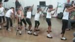 Dancing and cheesin!