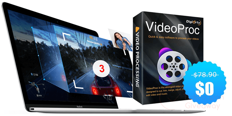 [Giveaway] VideoProc Free License – fast video processing software