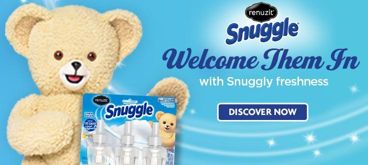 Renuzit Snuggle $1,000 Walmart Sweepstakes – Win A NEW Renuzit Snuggle Starter Kit