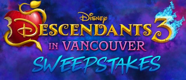 one time entry sweepstakes 2019 disney descendants 3 sweepstakes enter to win a trip for 2508