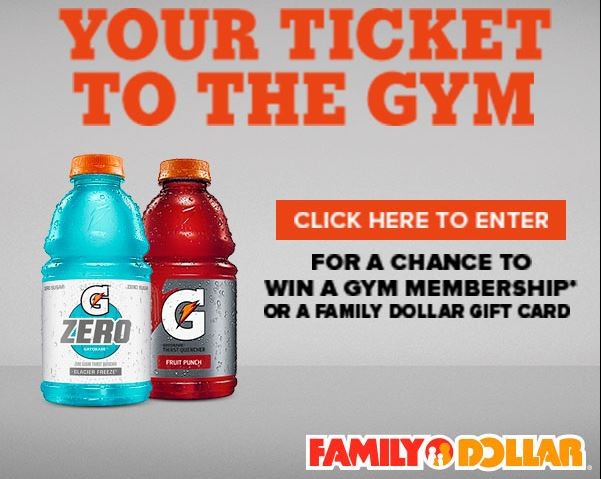 Free Gym Membership Sweepstakes - Enter To Win A Gift Card