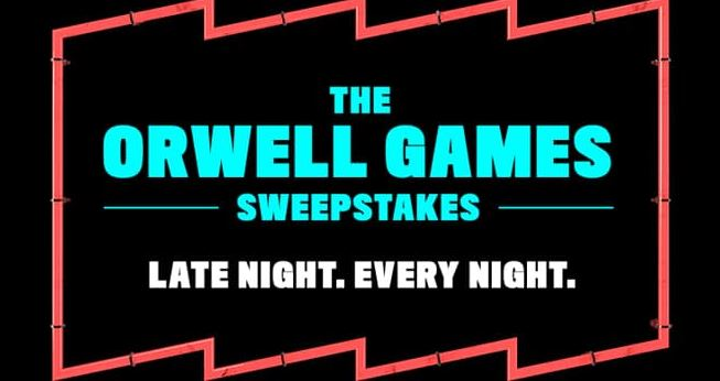 Pop TV The Orwell Games Sweepstakes - Enter To Win A Trip