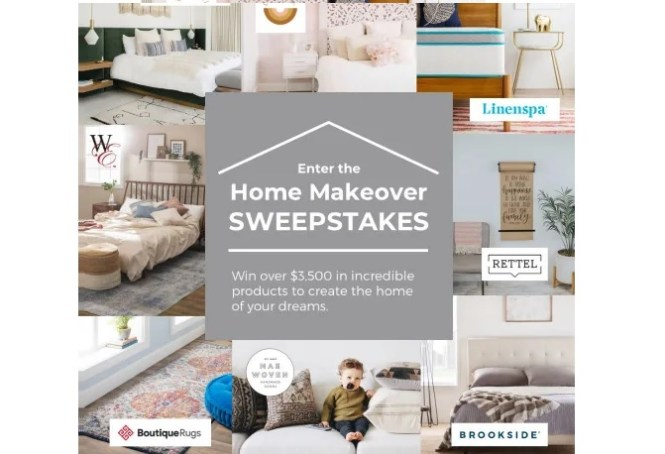 Linenspa Home Makeover Sweepstakes Win 12 Inch Gel Hybrid