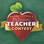Barnes and Noble My Favorite Teacher Contest 2018