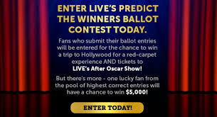 Live With Kelly And Ryan Ballot Contest