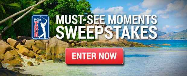 PGA TOUR Must-See Moments Sweepstakes