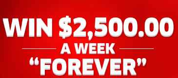 PCH $2,500 A Week Forever Sweepstakes (Giveaway No  11000)