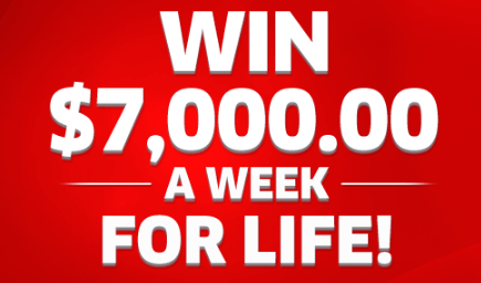 PCH Win $7,000 A Week For Life Sweepstakes (Giveaway No  13000)