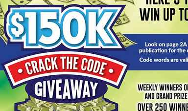 $150k Giveaway Crack The Code Sweepstakes - Win Up To 150k in Cash