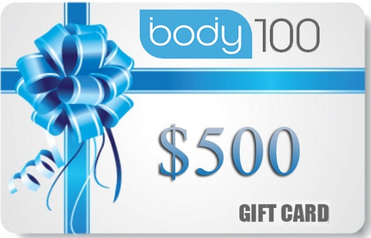 Body100.co 500 Dollars Gift Certificate Giveaway