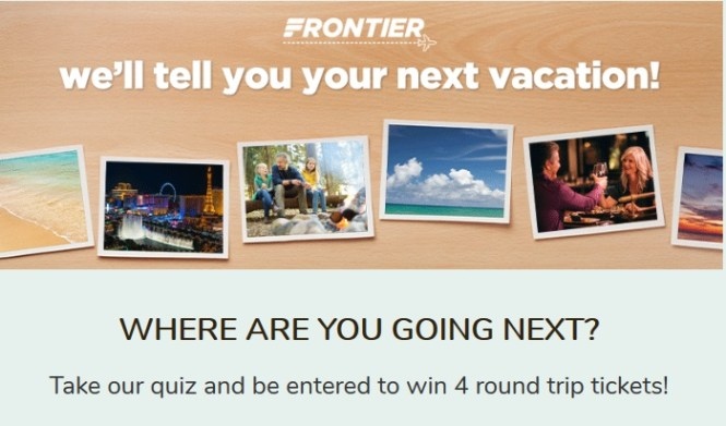 FlyFrontier Stay at Home Contest