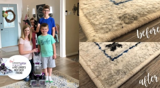 The Simple Moms Hoover Carpet Cleaner Giveaway