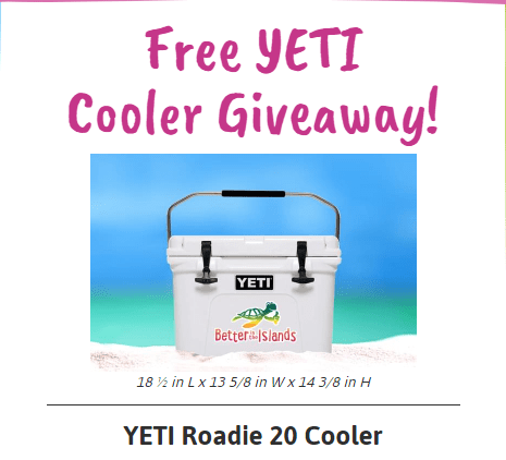 Chance To Win Yeti Cooler
