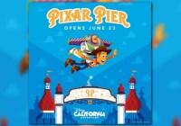 Pixar Pier 2018 Sweepstakes