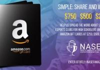 North America Scholastic Esports Federation Giveaway