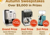 iDrinkCoffee Autumn Sweepstakes