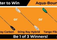 Paddling.com Aquabound Paddles Sweepstakes