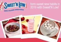 Sweet N Low Sweet New Year Sweepstakes