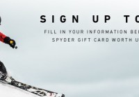 Spyder Active Sports Spyder Gift Card Sweepstakes
