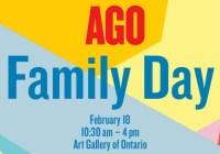Toronto 4 Kids AGO Family Day Contest