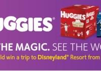 Huggies Magical Getaway Giveaway