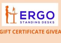 Ergo Standing Desks $500 Giveaway