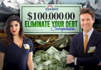 PCH $100k Eliminate Your Debt Sweepstakes
