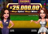 PCH $25000 Casino World Giveaway
