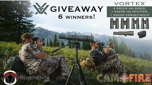 Black Ovis Vortex Rangefinder Giveaway